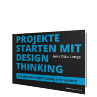 Buch-Cover Projekte starten mit Design Thinking